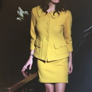 BB DAKOTA-Yellow Jacket/Skirt Suit